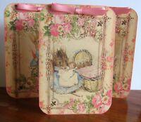 Beatrix Potter Bunny Rabbit Mouse Tent Cards Party Table Decoration Party Favor