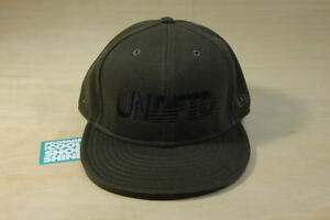 128074b1 UNDFTD BAR LOGO SWEATS NEW ERA FITTED HAT OLIVE CAP 7 3/8 UNDEFEATED ...