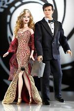 Mattel James Bond 007 Ken  Barbie Doll Loves Pop Culture 2002 #B0150 14+