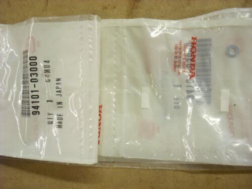 NOS OEM New Honda washer 94101-03000