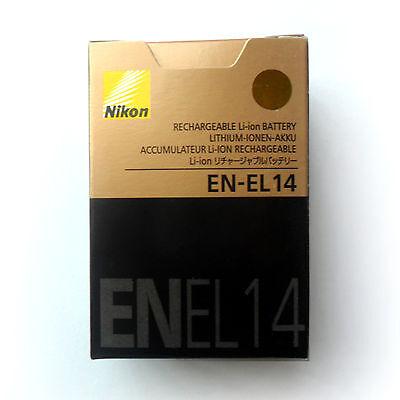 New EN-EL14 ENEL14 Battery For Nikon D5100 D3200 D3100 P7000 P7100