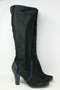 Detalles de Botas altas Mujer de ante negro . Nuevas, sin estrenar. Talla 38.