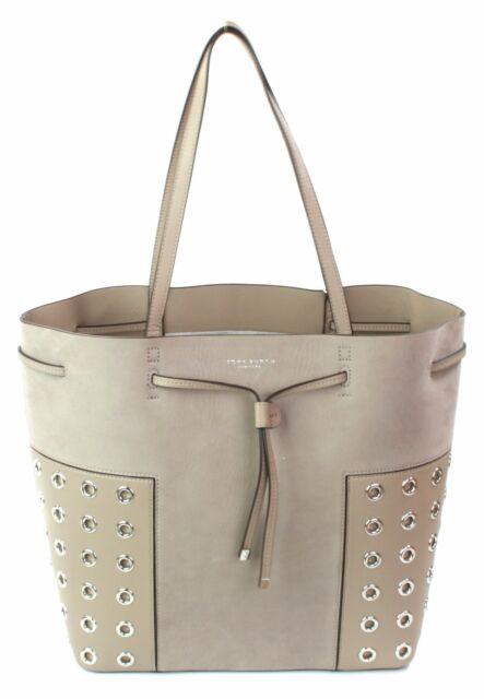 a77d29b4c6a0 ... coupon code for tory burch block grommet french grey tote bucket bag  medium handbag 941ae 4026f