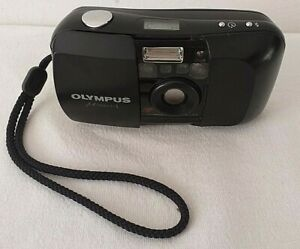 Olympus-mju-1-35mm-Point-And-Shoot-Camera-Fully-working-Film-Getestet