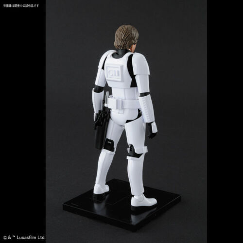 Bandai NEW*** Star Wars Plastic Model Kit 1//12 Luke Skywalker Stormtrooper Ver
