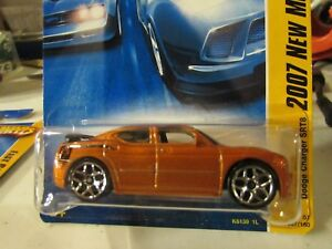 Details about Hot Wheels Dodge Charger SRT8 2007 new models Orange (clear  plastic has hole)