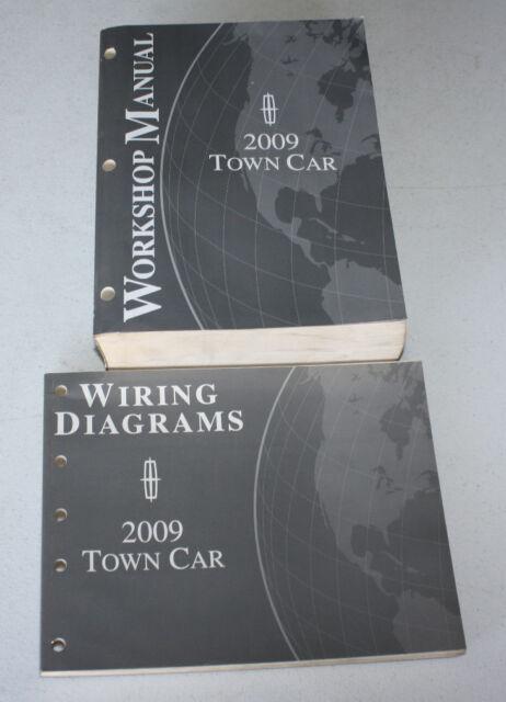 2009 Ford Lincoln Town Car Service Manual  U0026 Wiring Diagram