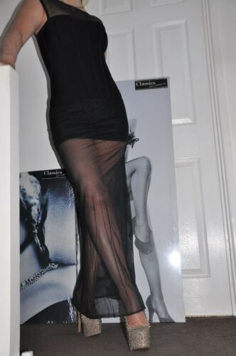 8 Bodycon Black Party Maxi Stretch Of S 10 Cat