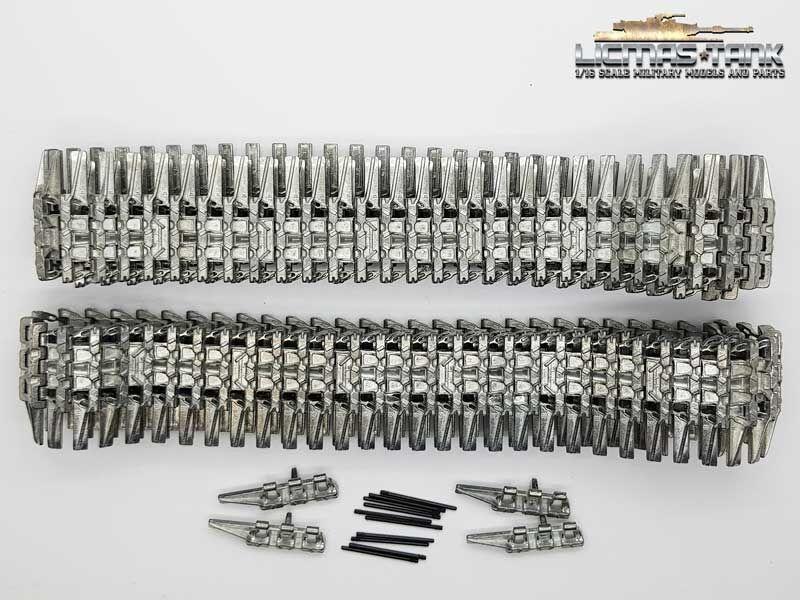 Taigen Metall Winterkette 1941 für Panzer 4 Taigen Taigen Taigen oder Heng Long  silver 1 16 abec5b