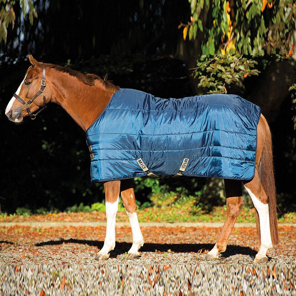 Horseware Mio INSULATOR Stable Rug Heavyweight 300g Navy Tan ALL SIZES