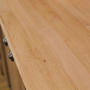 Details About Beech Wooden Kitchen Worktops Oil And Accessories 40mm Staves Solid Wood