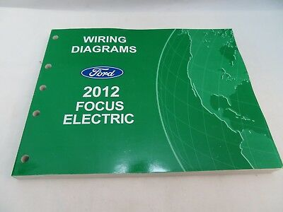 2012 FORD FOCUS ELECTRIC WIRING DIAGRAMS SERVICE MANUAL OEM ... Ford Focus Electric Wiring Diagram on ford bronco wiring diagram, ford f-250 wiring diagram, ford lcf wiring diagram, ford probe wiring diagram, ford model t wiring diagram, ford festiva wiring diagram, ford edge wiring diagram,