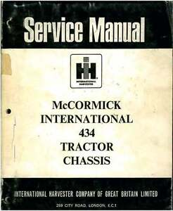 McCormick-International-Tractor-434-Workshop-Manual