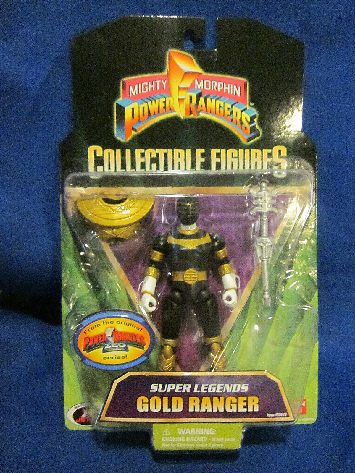 2008 Mighty Morphin Power Rangers Collectible Figure oro Ranger Sealed