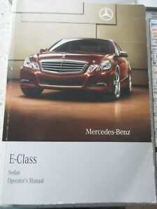 2010 mercedes e350 e550 e63 owners manual comand operators manual rh ebay co uk 2010 Mercedes E-Class Convertible with Hardtop 2006 E-Class