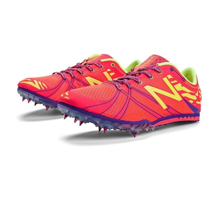 New Balance Women's MD500v3 Mid Distance Spike Running shoes, WMD500P3