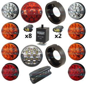 LAND-ROVER-DEFENDER-COMPLETE-10-LED-LIGHT-UPGRADE-KIT-NO-PLATE-RDX-WIPAC-LUX