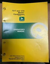 John Deere 1217 And 1219 Mower Conditioner Operator Manual Ome82475 I2 V 9