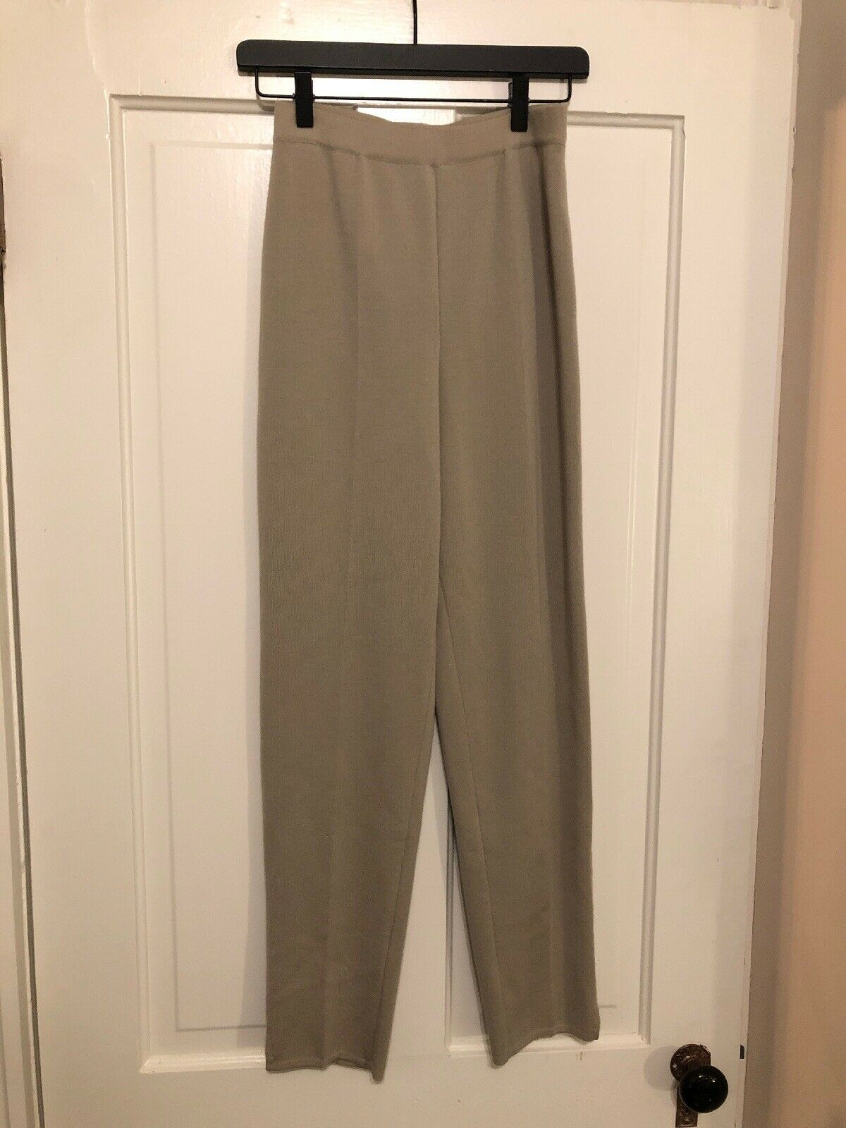 Gispa 100% Pure Wool Beige Pull On Pant Größe 6 Made In