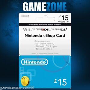 Nintendo-e-Shop-15-Card-Code-15-GBP-UK-Nintendo-eShop-3DS-DS-Wii-Wii-U