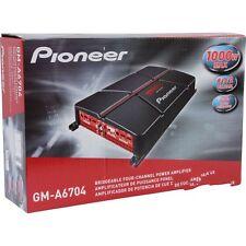 Pioneer Gm-a6704 1000 Watt Class AB 4-channel Car Amplifier