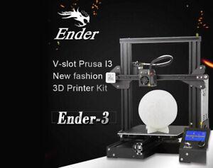 Creality Ender 3 Imprimante 3D impression 3D 1.75 mm PLA TPU, ABS 220x220x250 mm