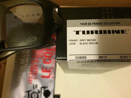 Iridio Tour Oakley Nero Nuovo De Fumè Turbina France Oo9263 16 Grigio w1q85q