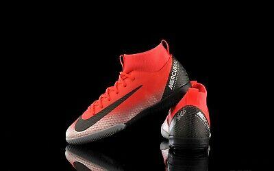 Chaussure de futsal NIKE MERCURIAL SUPERFLY 6 ACADEMY GS CR7 IC | eBay