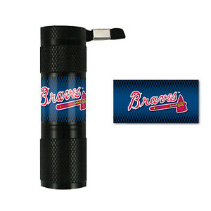 Atlanta Braves MLB Baseball Licensed 9x LED Flashlight Water Resistant