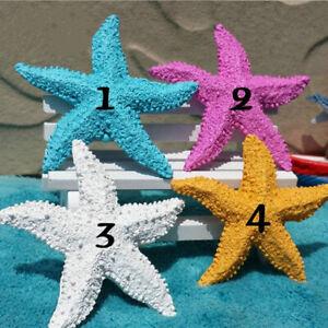 Resin Hanging Starfish Tropical Wedding Ornament Sea Themed Home Wall Decor
