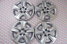 """GENUINE Vauxhall ASTRA H MERIVA B ZAFIRA 16"""" WHEEL TRIMS x 4 - NEW - 13337258"""