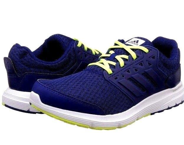 New  Uomo Adidas Galaxy Trainers 3 M Ortholite Running Trainers Galaxy Navy/Yellow UK 8.5 5df781
