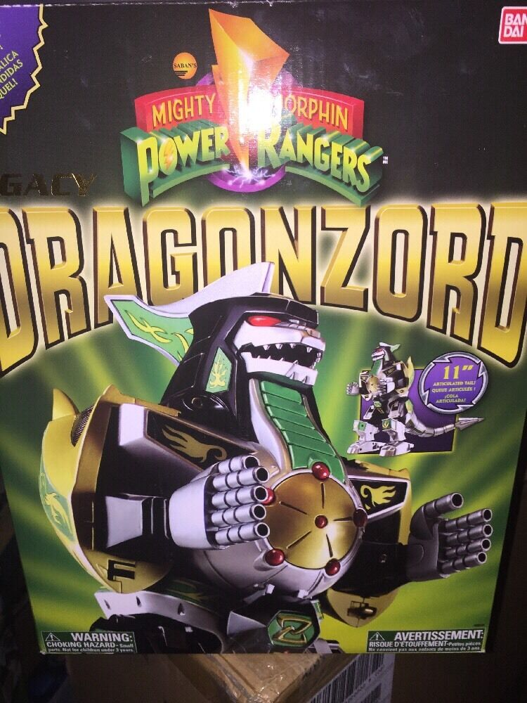 Power Rangers Action Figures Legacy Green Dragonzord