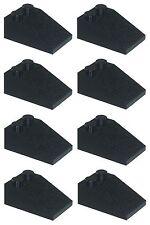 Missing Lego Brick 3298 Black x 8 Slope Brick 33° 3 x 2