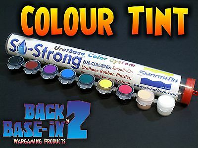 SO-Strong Colour Color Tint for Urethane Resin Rubber Plastic Foam Smooth On