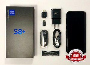 Samsung-Galaxy-S8-Plus-Black-AT-amp-T-Sprint-Verizon-G955U1-Factory-Unlocked