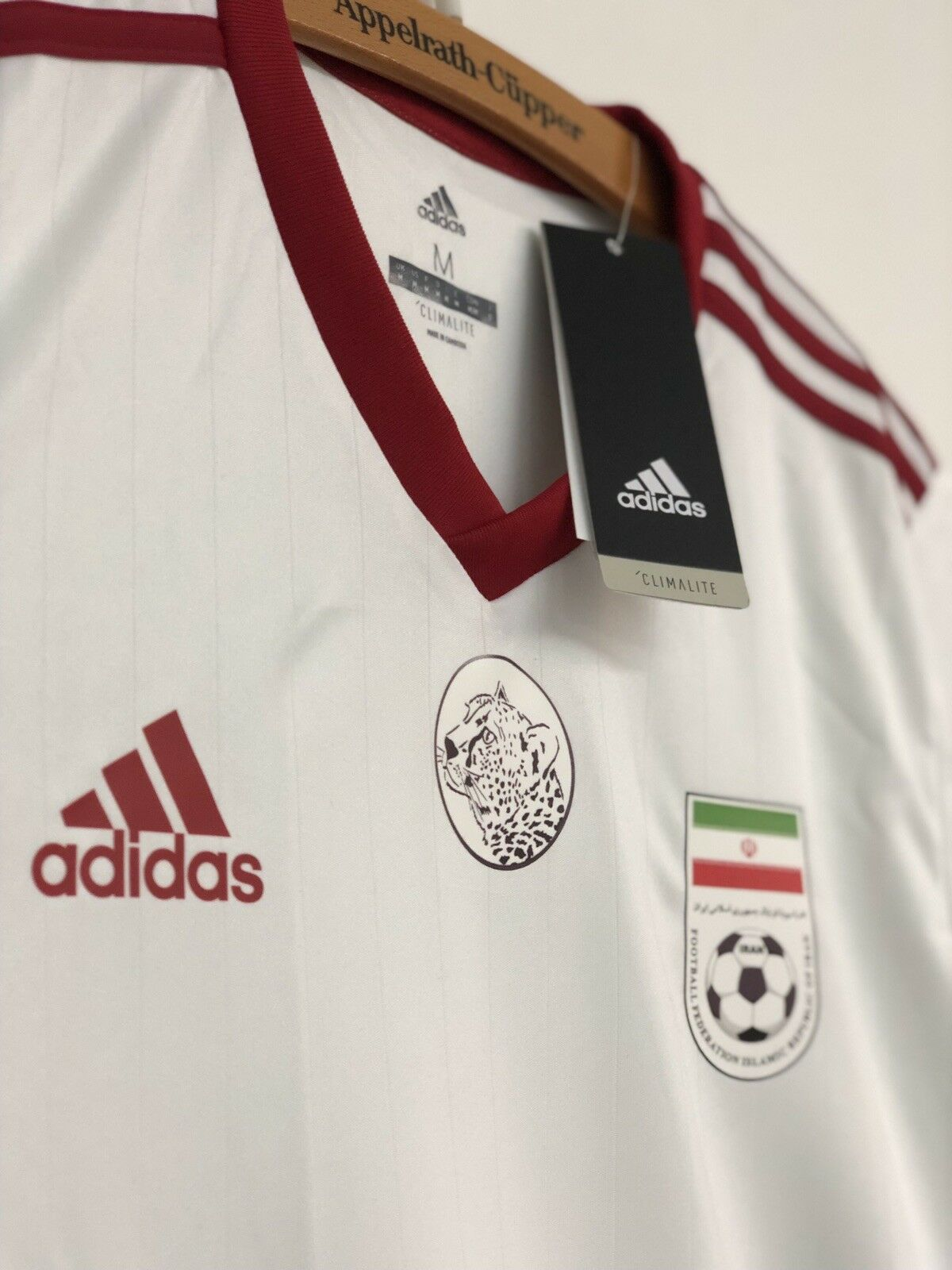 IRAN Trikot Adidas Asien Cup 2019    IRAN Home JERSEY    TEAM MELLI    NEU    M