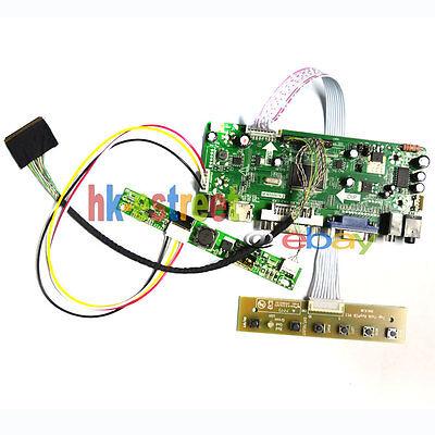 HDMI+DVI+VGA LCD Controller Board for LP171WU1-A4 LP171WU1-A4K2 1920*1200 @USA