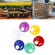6pcs Hive Door Beekeeping Beekeeper Box Plastic Entrance Disc Bee Nest Gate TDO