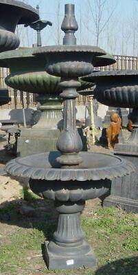 Qualifiziert Gartenbrunnen,2-stufiger Standbrunnen,wasserbecken, Brunnen, Gartenbecken,
