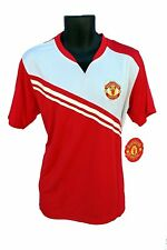 Manchester United FC Soccer Officially Licensed Adult Poly Jersey 006-L