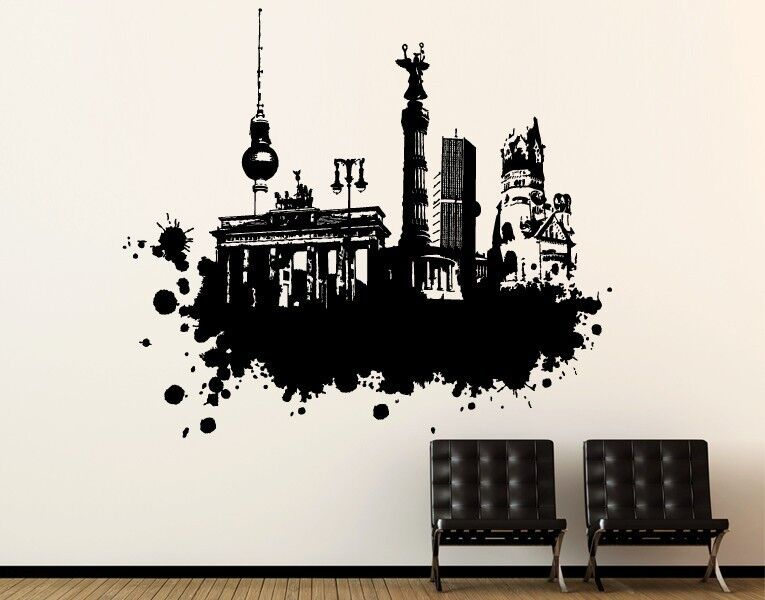 Berlin Arte Callejero - más Alta Calidad Adhesivo Parosso Pegatinas