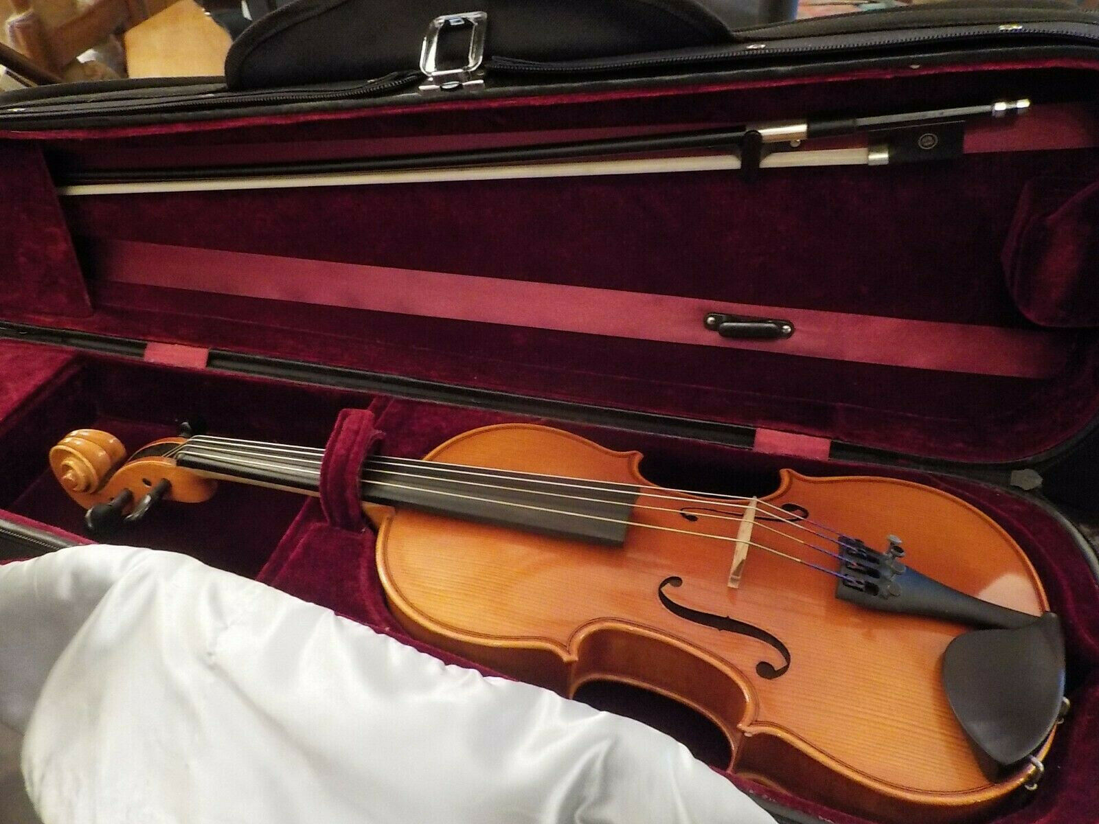 Samuel Eastman VA100 12  purple 2010 Violin With Case and Bow