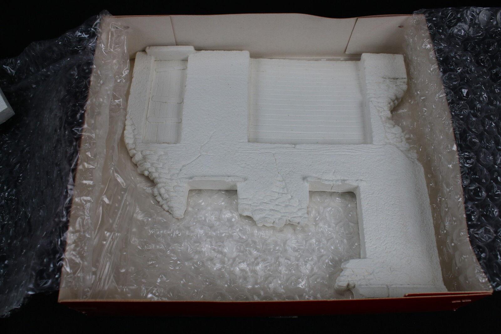 YY020 JMP productions rare construction plâtre 35036 Ruine garage garage garage diorama rue 079525