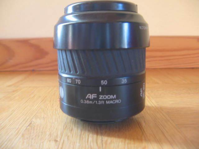 Objektiv Minolta AF Zoom 35-80 1:4 ( 22 ) - 5,6 49mm Minolta Dynax