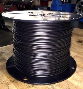 14-Gauge-Underground-Pet-Fence-Wire-45mil-LD-PE-Stranded-1000ft-Black-dog-safety