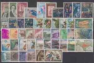 ESPANA-ANO-1972-NUEVO-MNH-EDIFIL-2071-2116-COMPLETO-SIN-FIJASELLOS