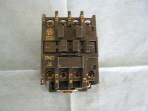 General Electric Model CR4CC-10 Motor Starter /<