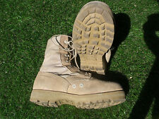 Altama Military Army Desert Tan Hot Weather US Made GI Combat Boots 8 XW GC #12