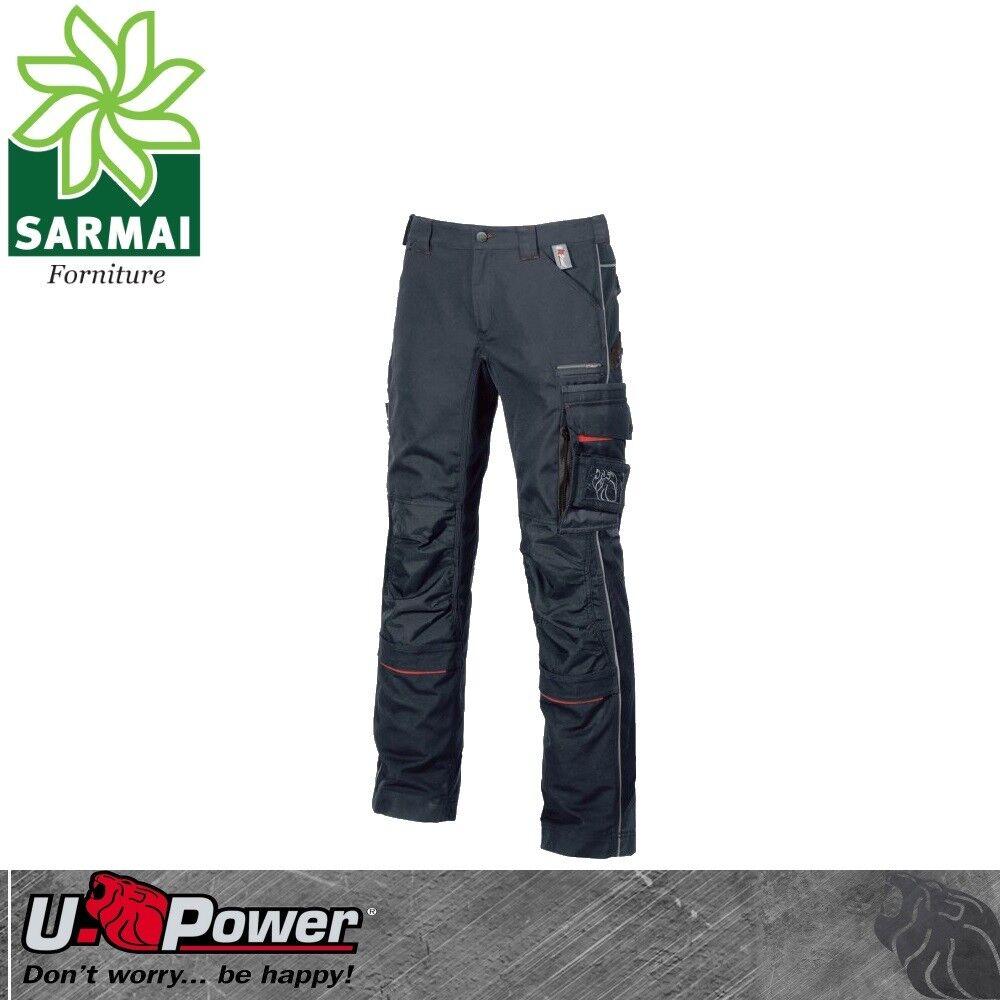 Upower DRIFT pantalone da da da lavoro multi tasca laterale toppe di rinforzo TG 44-60 4e3bac